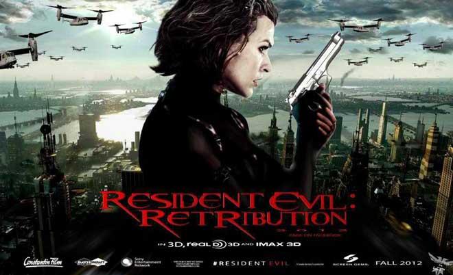 Resident Evil 5 Retribution ผีชีวะ 5 สงครามไวรัสล้างนรก 2012